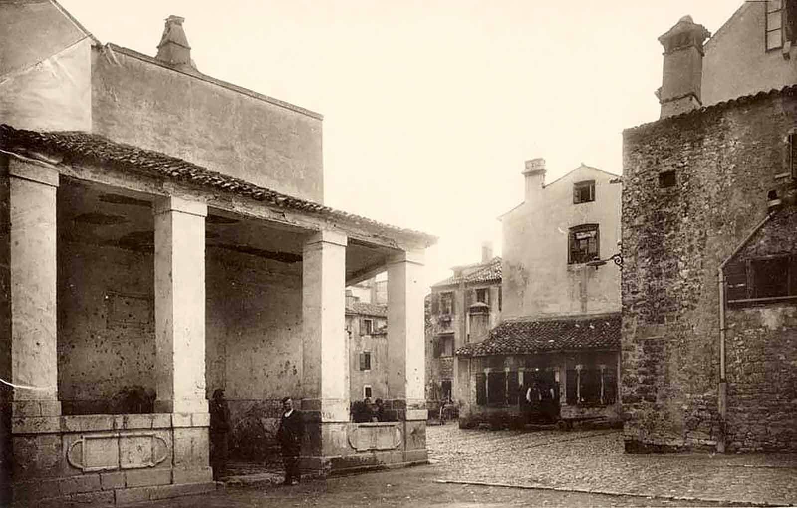 Pile market in Zadar, 1903