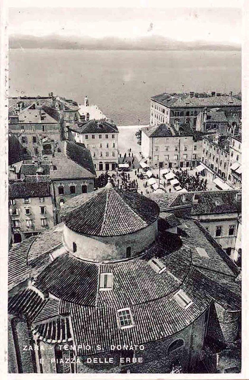 Piazza dell'Erbe Zadar 1911