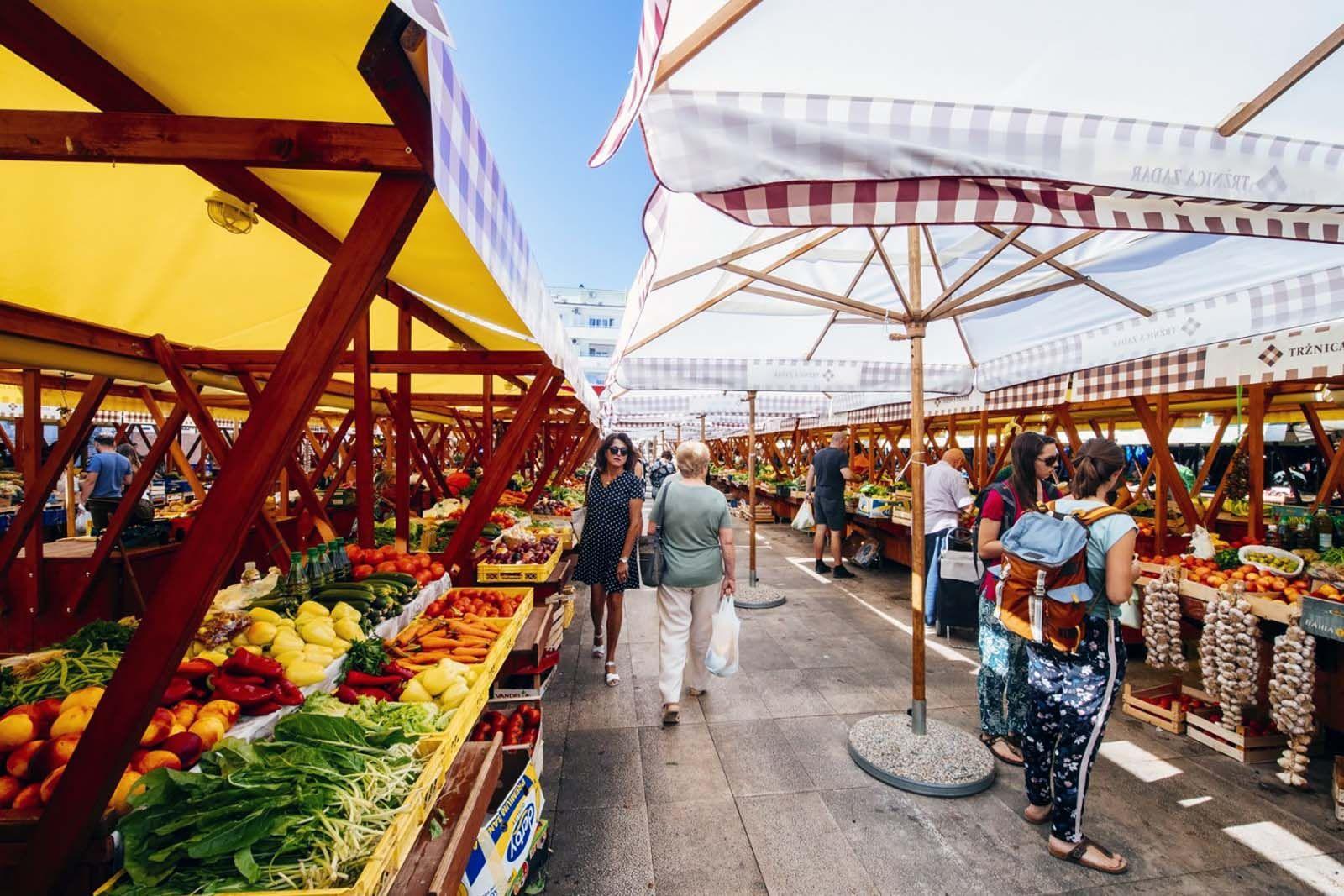 Stipe Surać Zadarska tržnica