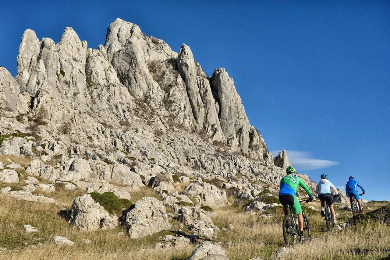 Zadar Bike Magic Tulove grede Velebit