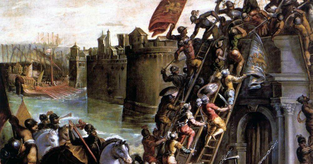 Siege of Zadar 1202 Vicentino