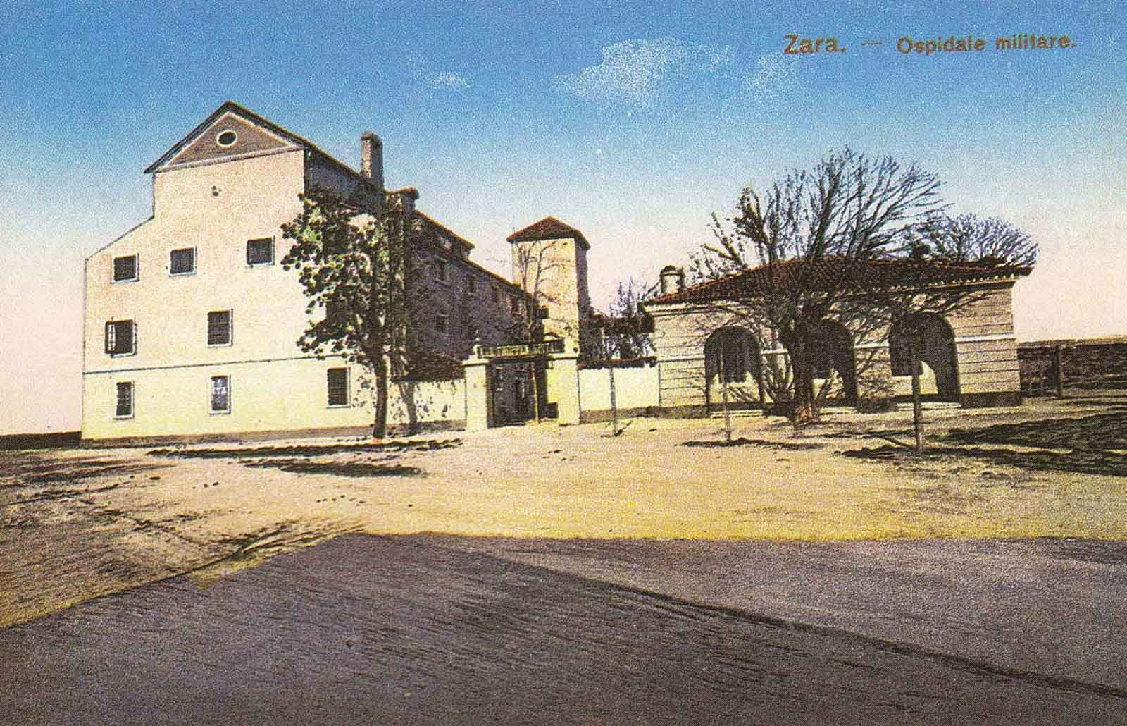 Monastery St Nicholas Military hospital